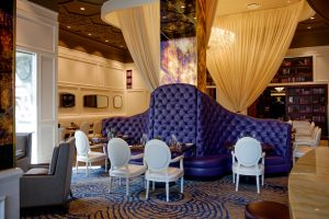 Varia's elegant dining room