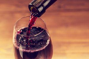 Wine Glass Pour Image