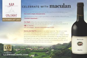 Wine celebration flyer
