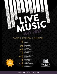Live Music July Poster