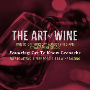 The Art of Wine: Grenache Event